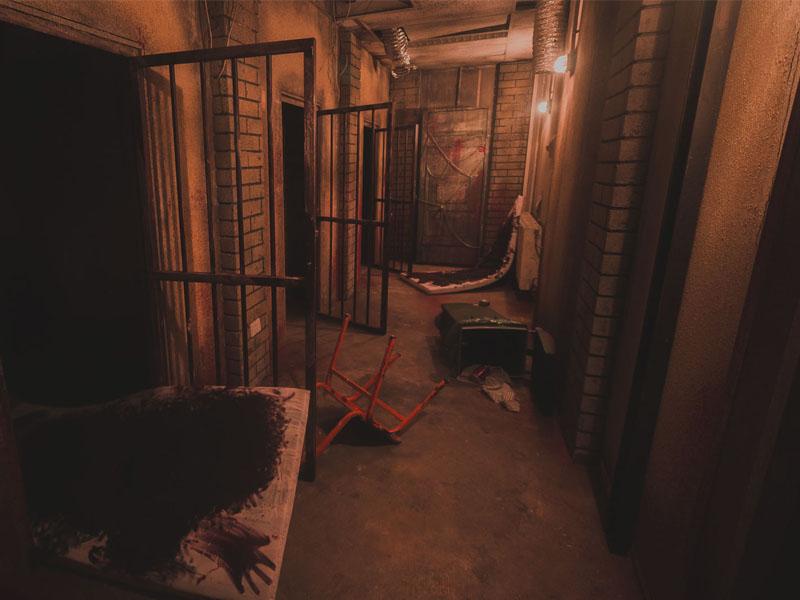 walking death room