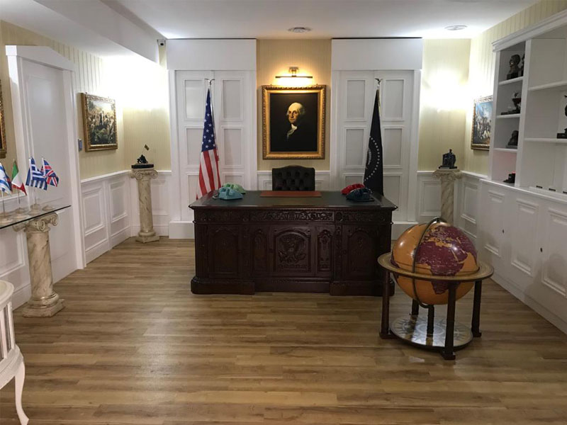 white house down room image